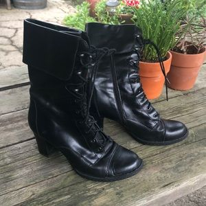 Born leather boots 8.5